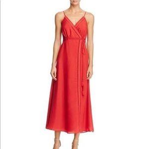TJD The Jetset Diaries Regla Wrap Midi Dress S